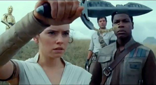 Rey tenant une dague Sith dans Star Wars 9, qui n'est a priori pas la dague de