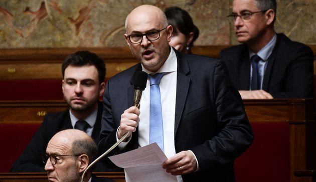 Laurent Pietraszewski, ici à l'Assemblée nationale le 29 janvier, remplace Jean-Paul Delevoye...