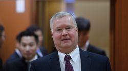 스티븐 비건 미국 대북정책 특별대표가 중국을 전격