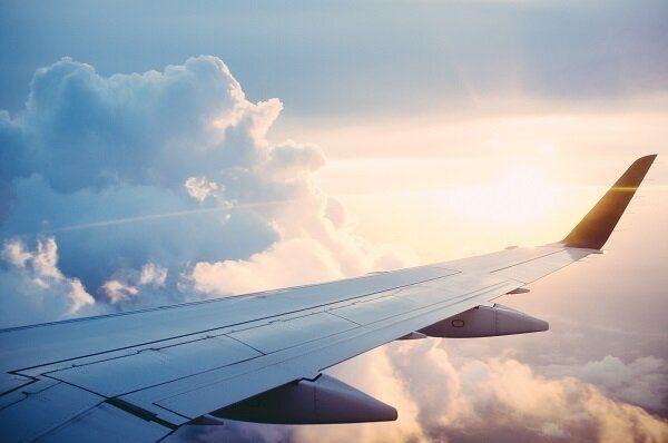飛行機 イメージ写真