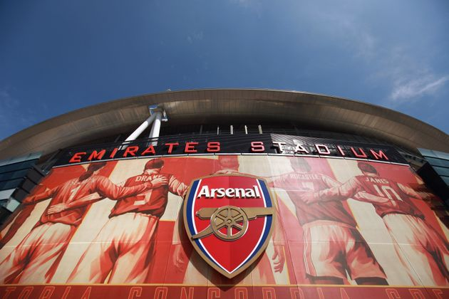 LONDON, ENGLAND - APRIL 11: A general view of Arsenal Football Club's Emirates Stadium on April 11, 2011...