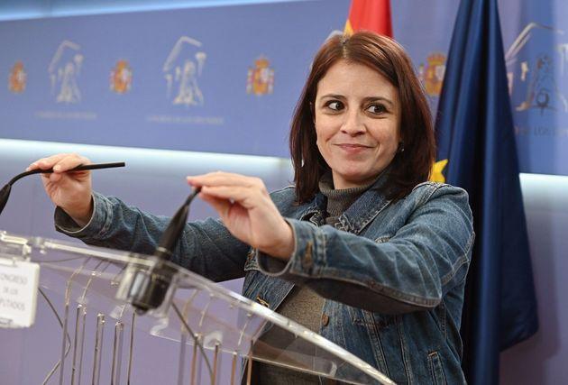 La portavoz socialista en el Congreso, Adriana