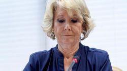 Anticorrupción pedirá el procesamiento de Esperanza Aguirre en