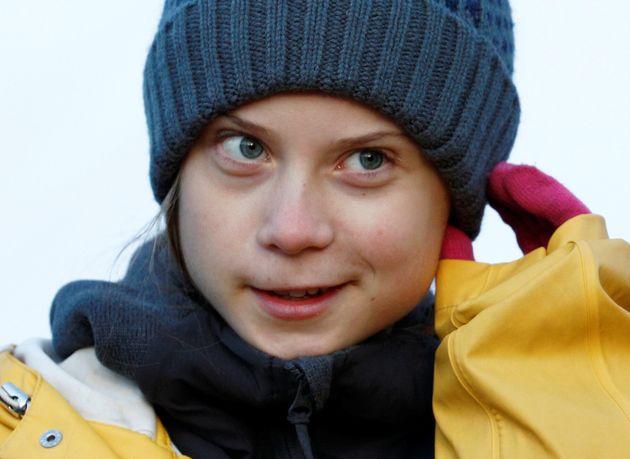 Greta Thunberg, el pasado 13 de diciembre, en una de marcha de los Viernes por el Futuro, en Turín