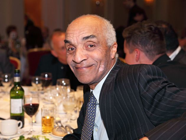 Kenny Lynch, pictured in