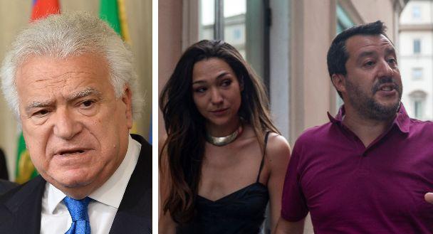 Denis Verdini; Matteo Salvini e la fidanzata Francesca