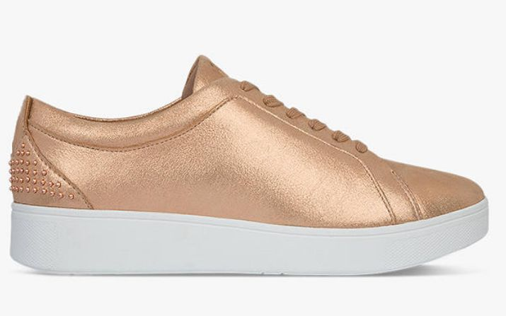 """<a href=""""https://fave.co/2PwuQ4c"""" target=""""_blank"""" rel=""""noopener noreferrer"""">Fitflop Rally Lace Up Trainers, John Lewis,</a> &pound;68"""