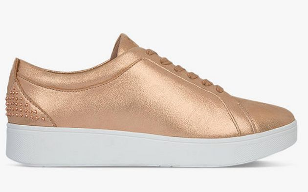 Fitflop Rally Lace Up Trainers, John Lewis, £68