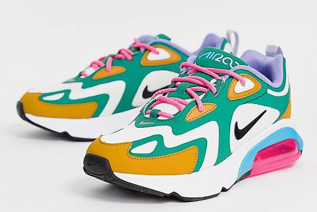 """<a href=""""https://fave.co/2M844wZ"""" target=""""_blank"""" rel=""""noopener noreferrer"""">Nike Multi Air Max 200 Trainers, ASOS,</a> &pound;77&nbsp;"""