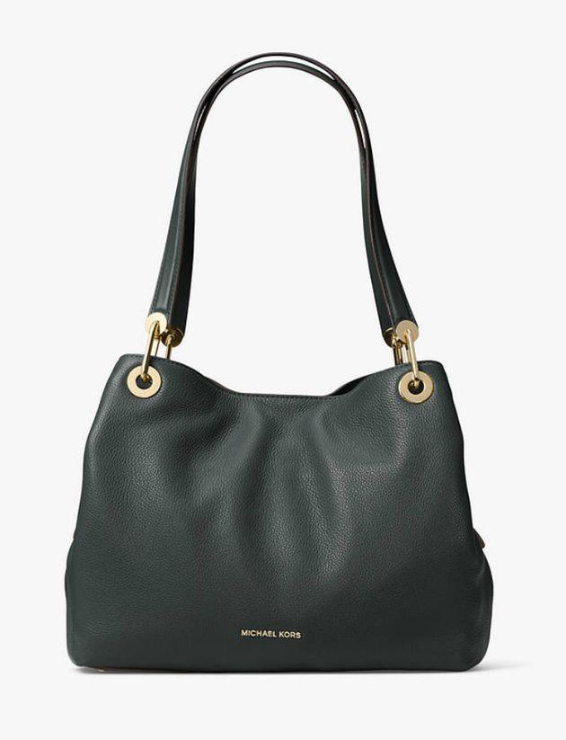 Michael Kors Raven Large Leather Shoulder Bag, John Lewis, £206.50