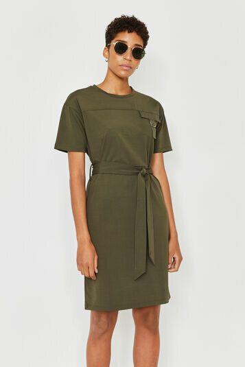 Utility T-shirt Dress, Warehouse, £42