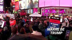 Les pro-destitution de Trump ont envahi les rues avant un vote