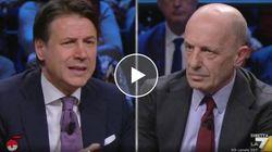Conte vs Sallusti finisce in confusione tra