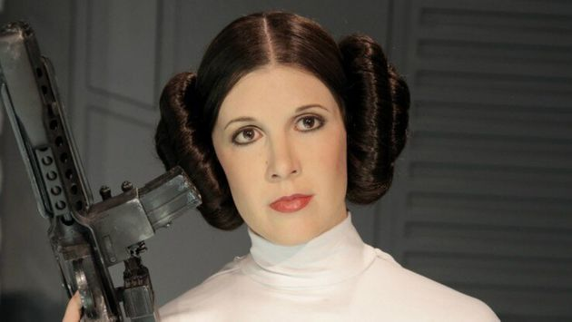 Carrie Fisher, alias princesse Leia