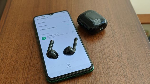 The Realme Buds Air are actually pretty good value for