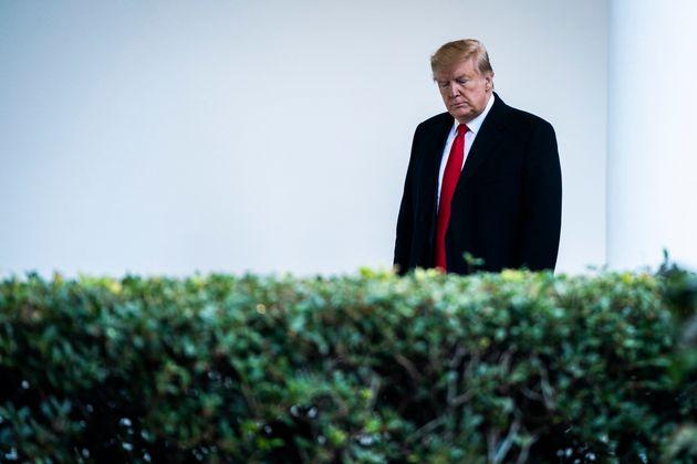 Donald Trump, ici à la Maison Blanche à Washington le 17 décembre