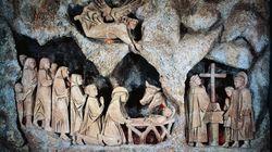 Come 797 anni fa, a Greccio rivive la magia del primo Presepe al
