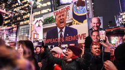 Anti-Trump Protests Sweep U.S. Ahead Of Historic Impeachment