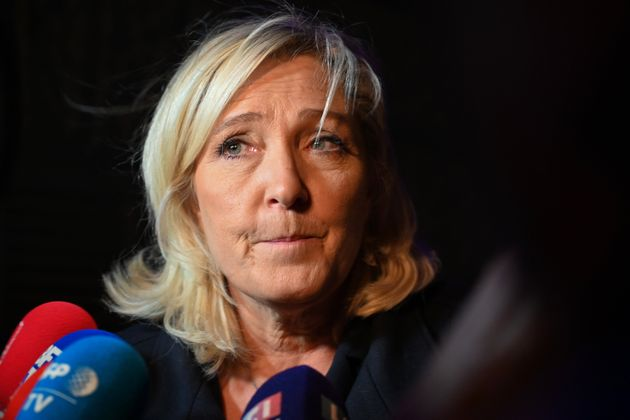 Marine Le Pen, présidente du Rassemblement