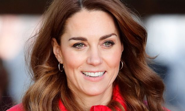 La duquesa de Cambridge, en un evento navideño el 4 de diciembre de 2019 en Great Missenden, Reino