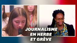 Manon, 14 ans, stagiaire à RTL, a posé à Sibeth Ndiaye la question que des milliers de Français se