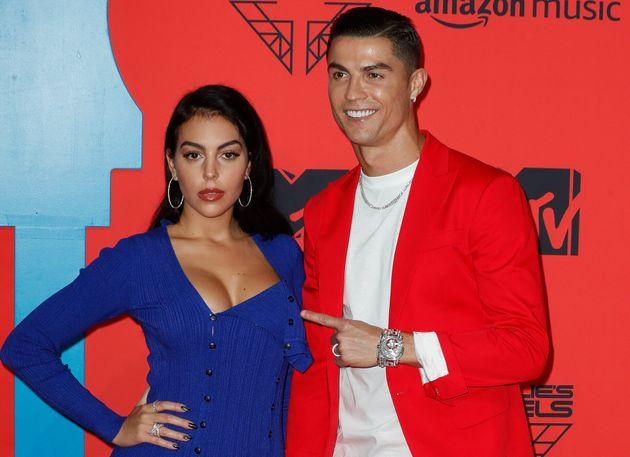 Georgina Rodríguez y Cristiano