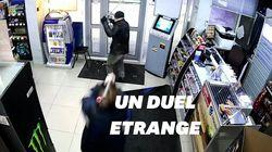 Cette employée d'une station service russe a repoussé un voleur... avec une
