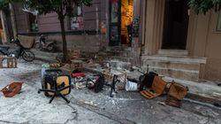 Κουκάκι: Τα τηλεοπτικά συνεργεία έφτασαν στις καταλήψεις πριν την