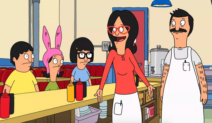 "The characters of ""Bob's Burgers"""