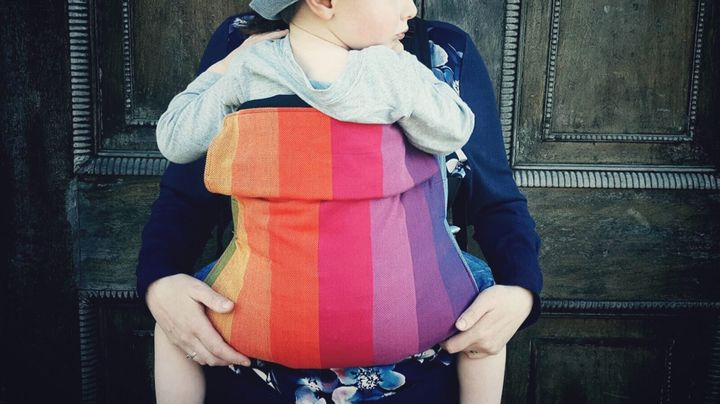"""<a href=""""https://fave.co/2PpKRcm"""" target=""""_blank"""" role=""""link"""" data-ylk=""""subsec:paragraph;itc:0;cpos:__RAPID_INDEX__;pos:__RAPID_SUBINDEX__;elm:context_link"""">Connecta Baby Carrier, Koala Slings</a>, £69.95"""