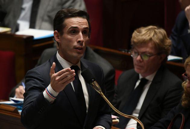 Jean-Baptiste Djebbari au mois de novembre à l'Assemblée