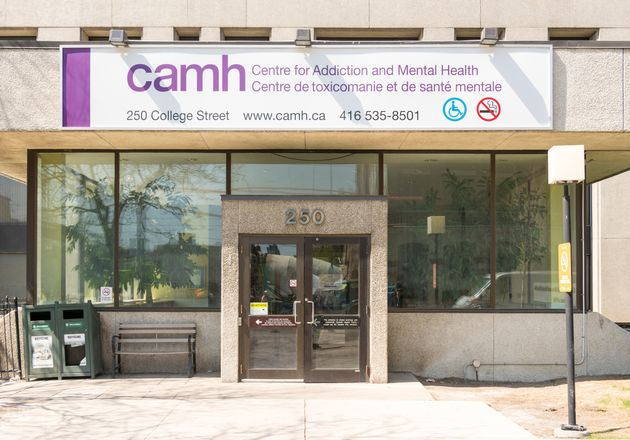 The CAMH building in Toronto is seen here in 2015. The facility's president says she's confident the...