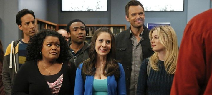 "The cast of ""Community"""