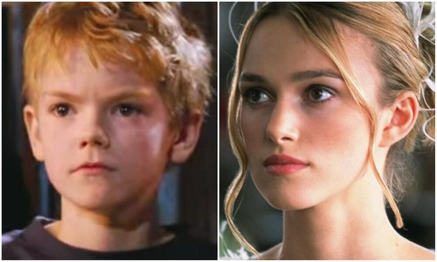 Thomas Brodie-Sangster and Keira Knightley