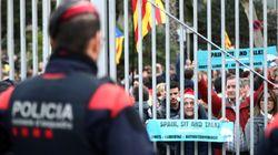 Las imágenes del 18-D: Barcelona vive el 'Clásico' más