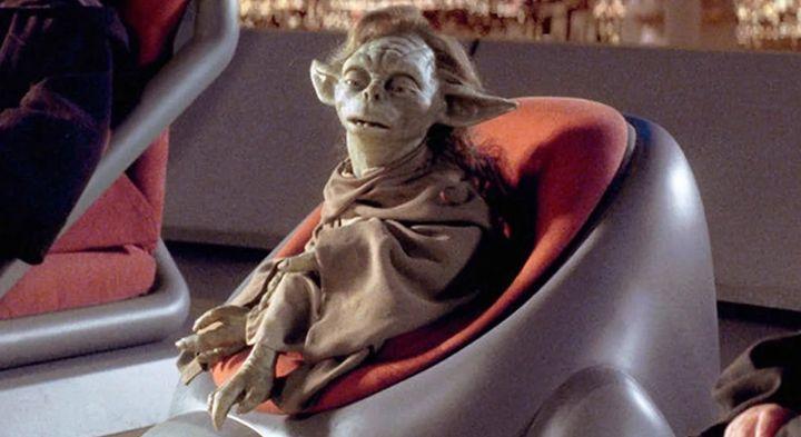 Yaddle en el Consejo Jedi.