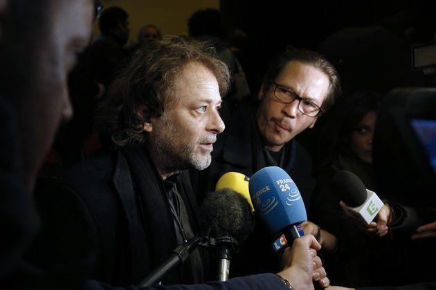 Pour sa défense, Christophe Ruggia (ici le 21 octobre 2015) sous-entend qu'Adèle Haenel...