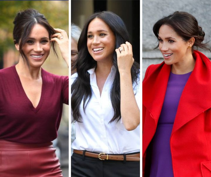 meghan markle s best looks of 2019 huffpost life meghan markle s best looks of 2019