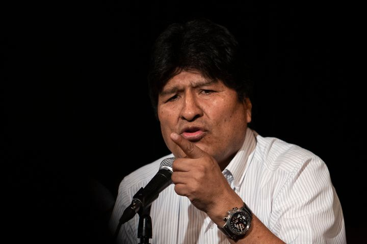 Former Bolivian President Evo Morales is now based in Argentina.
