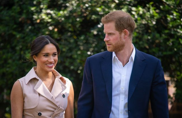 The Duke and Duchess of Sussex on their royal tour of southern Africa.
