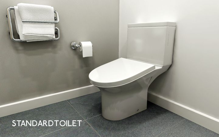 StandardToilet's toilet design aims to reduce longer office bathroom breaks.