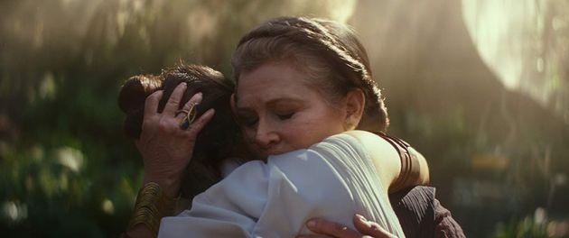 Filme marca a despedida de Carrie Fisher, a eterna Princesa Leia, que morreu em dezembro de 2016, aos...