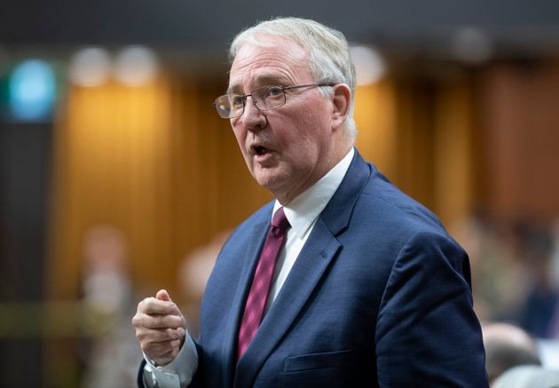 Public Safety and Emergency Preparedness Minister Bill Blair speaks during question period in the House...