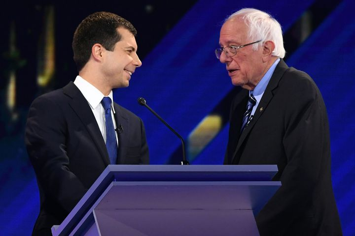 South Bend, Indiana, Mayor Pete Buttigieg, the youngest Democratic presidential candidate in the field, has considerably high