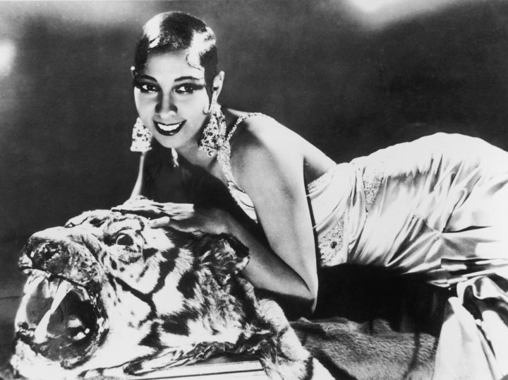 Josephine Baker captivated audiences in Paris as an entertainer during the Roaring Twenties.