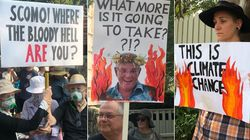 Climate Protesters Ask Scott Morrison: 'Where The Bloody Hell Are