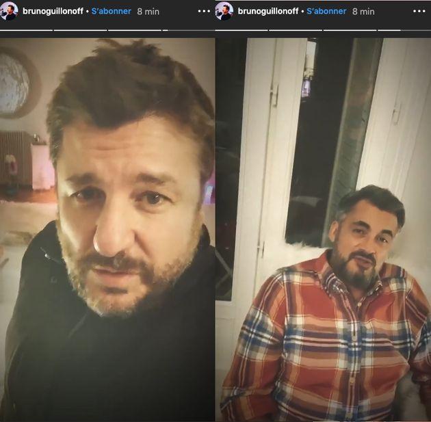Bruno Guillon et Olivier Minne annoncent à leur façon le retour
