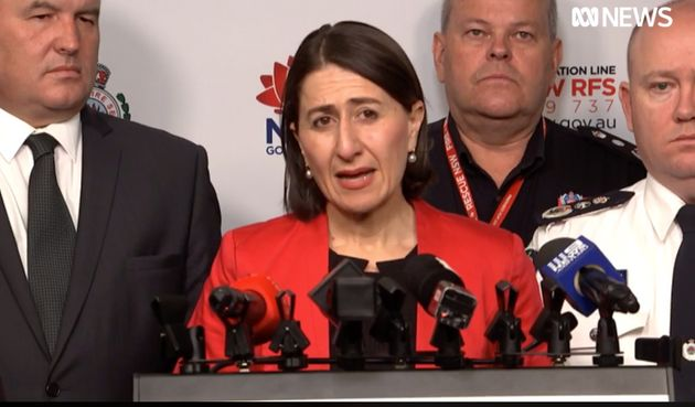 NSW Premier Gladys Berejiklian declares state of