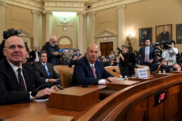 도널드 트럼프 미국 대통령에 대한 탄핵소추안이 하원에서