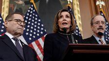 Pelosi信号の遅れなどがる上院Impeachment試験